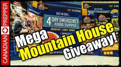 Mountain House Mega Giveaway: *CONTEST CLOSED!   Canadian Prepper  http://prepperhub.org/mountain-house-mega-giveaway-contest-closed-canadian-prepper/