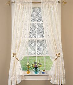 Country Lace ... Shade & Panels