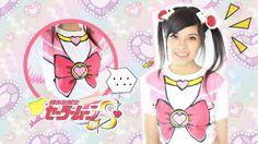 Sailor Moon 美少女戦士セーラームー DIY T-shirt anime tutorial Sailor Moon, Cosplay Diy, Cute Pins, Kawaii Clothes, Princess Zelda, Disney Princess, T Shirt Diy, Diy Clothing, Kawaii Fashion