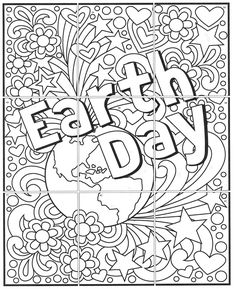 Try one of my free Earth Day activities and see how easy it is to make a large collaborative mural. Just print, color, trim and tape together. Earth Day Coloring Pages, Dolphin Coloring Pages, Puppy Coloring Pages, Summer Coloring Pages, Mermaid Coloring Pages, Coloring Pages For Girls, Cartoon Coloring Pages, Coloring For Kids, Collaborative Art Projects For Kids
