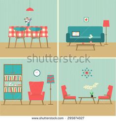 Stock Images similar to ID 76040716 - living room interior with...