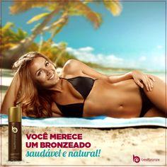 Fique bronzeada sem envelhecer a pele por causa dos raios solares. Experimente Best Bronze: www.bestbronze.com.br  #bestbronze #autobronzeador #bronze #bronzeado #pelebronzeada