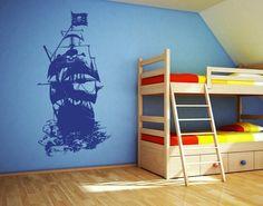 Wandtattoo+Piratenschiff+von+Klebefieber+auf+DaWanda.com