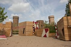 [Playscapes Blog] - Modern Castle Playground, Zulpich Germany, RMP Stephan…