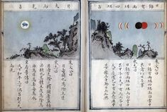 Xiang Yi Fu (The Study of Celestial Phenomena). Page 2. Beijing: ca. 1580. Manuscript. Chinese Rare Book Collection, Asian Division, Library of Congress (97.1)