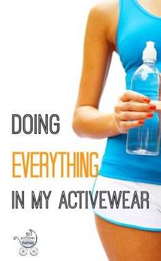 Guilty, as charged. (And shared while wearing activewear.) | Fit Bottomed Mamas