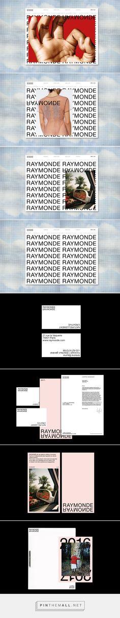 Raymonde - identity - webdesign on Behance - created via https://pinthemall.net