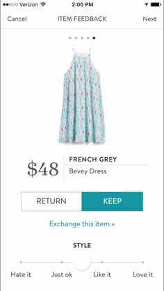 French Grey Bevey dress I love Stitch Fix! A personalized styling service and it's amazing!! Simply fill out a style profile with sizing and preferences. Then your very own stylist selects 5 pieces to send to you to try out at home. Keep what you love and return what you don't. Only a $20 fee which is also applied to anything you keep. Plus, if you keep all 5 pieces you get 25% off! Free shipping both ways. Schedule your first fix using the link below! #stitchfix @stitchfix. Stitchfix Fall…
