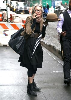 Hold her hat. | 18 Things Diane Keaton Does Better Than Your Basic Ass