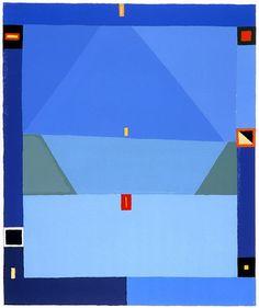 Jerzy Nowosielski, Kompozycja abstrakcyjna, 1997