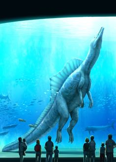 Prehistoric Wildlife, Prehistoric World, Prehistoric Creatures, Jurassic Park Party, Jurassic Park World, All Dinosaurs, Dinosaur Pictures, Spinosaurus, Extinct Animals