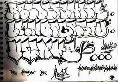 Tag graffiti style black and white letters. Graffiti alphabet letters A through Z. Graffiti Books, Graffiti Lettering Alphabet, Graffiti Doodles, Graffiti Writing, Graffiti Font, Graffiti Tagging, Graffiti Designs, Graffiti Styles, Street Art Graffiti