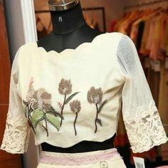 Trendy Designer Work Saree Jacket Designs, Pattu Saree Blouse Designs, Choli Designs, Kurta Designs, Blouse Back Neck Designs, Trendy Suits, Stylish Blouse Design, Indian Designer Wear, Blouse Patterns