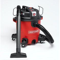 Craftsman Wet Dry Vac XSP 12 Gallon 5.5 Peak HP Vacuum Jobsite Shop Garage Home #Craftsman