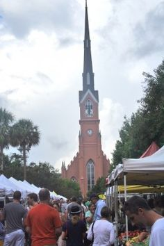 MARION SQUARE FARMER'S MARKET; Charleston, SC.  OPENS APRIL 7, 2012.
