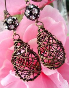 Edgy Vintage Style Earrings