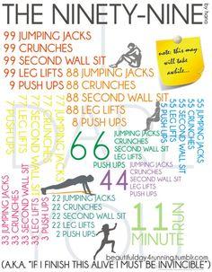 The Ninety-Nine by hana , 4 Pinterest Workouts That Kicked My Lazy Butt