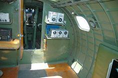 B-17 Interior radio compartment