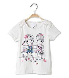 Camiseta Niña Ver todo en blanco –  al mejor precio en C&A