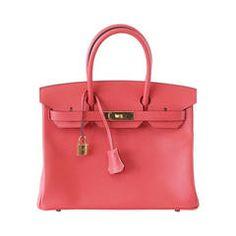 HERMES BIRKIN 30 bag exquisite ROSE JAIPUR epsom gold hardware Hermes Birkin,  Hermes Bags, ce5d0cc7fe