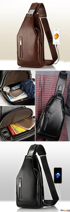 Travel Bag with USB Port. 2 Colors Optional. 80% OFF. US$26.99 + Free Shipping.