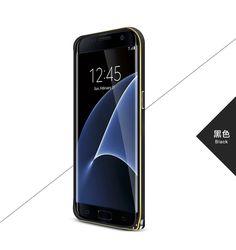 LOVE MEI Ultra Slim Aluminum Frame Curved Metal Bumper for Samsung Galaxy S7 Edge G9350/ S7 G9300