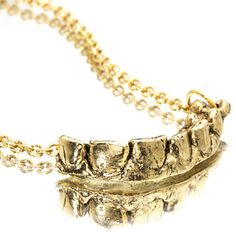 Dental Record Necklace now featured on Fab.