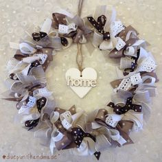 #duepuntihandmade #autumn #wreath #brown #color #handmade #home #heart