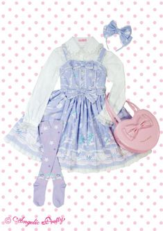 angelic pretty Candy Sprinkle ジャンパースカート Set
