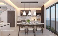 Trang trí nội thất bếp đẹp với màu vàng kim loạiDù cho căn bếp với gam màu chủ đạo là màu trắng luôn mang lại cảm giác rộng rãi nhưng vẫn giữ cho bếp luôn sạch sẽ là một việc không đơn giản. Trước khi bạn cải tại cho