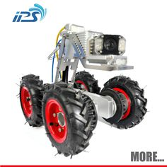 Pipe Inspection Camera ①For DN 300-2000 pipe ②Better proportioned illumination ③3 tires optional ④IP68 waterproof