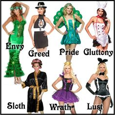 7 deadly sins costume