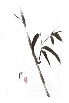 Bamboo Sumi-e
