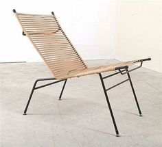 Clement Meadmore, reclining chair , 1955