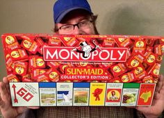 Monopoly: Sun Maid (Collector's Edition). | 13 Of The Weirdest Monopoly Editions Ever Created