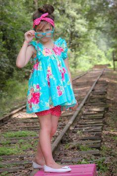 Clara Top & Shorts - Violette Field Threads  - 1