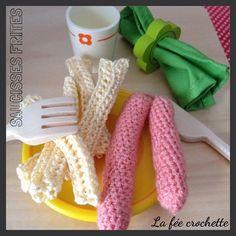 #saucissesfrites pour les #serialcrocheteuses #crochet #Padgram
