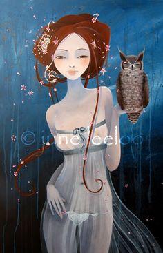 June Leeloo...   Kai Fine Art