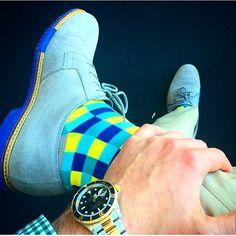 Colorful Socks for Men by Soxy Socks.