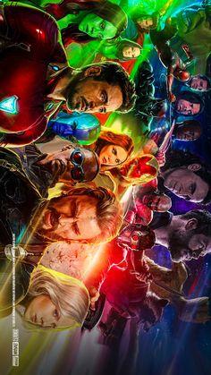 Avengers infinity War All Superheroes Clip Art❤️ #MCU #Avengers infinity War #Marvel Studio