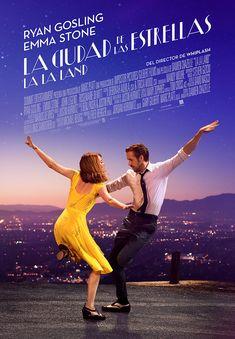 'La La Land. Ciudad de las estrellas' (2016). Dirigida por Damien Chazelle y protagonizada por Emma Stone y Ryan Gosling. Renoir Floridablanca 14/2/2017. 5/5.