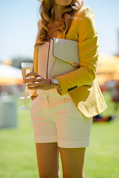 polo wear, classy spring/summer outfits idea (pitty shorts aren't allowed at Ham Polo Club) Dxx