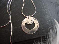 What Goes Around Comes Around - Sterling Silver Pendant x