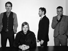 Interpol, New York City's post-punk revival. The group took its cues from Joy Division