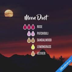 Moon Dust - Essential Oil Diffuser Blend #frankincenseessentialoilsleep