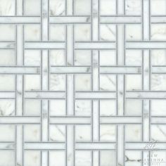 """Name: Parker Style: Classic Product Number: NRFPARKER Description: 24""""x 24"""" Parker in Bardiglio, Calacatta Tia (p)"""