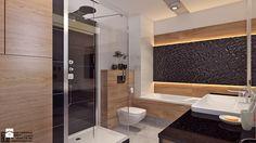 Łazienka 2 - Duża łazienka bez okna, styl nowoczesny - zdjęcie od APP TRENDY Autorska Pracownia Projektowa