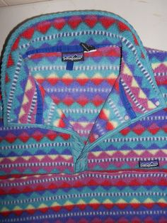 Patagonia vintage pullover.  almost as vintage as mine @Emma H