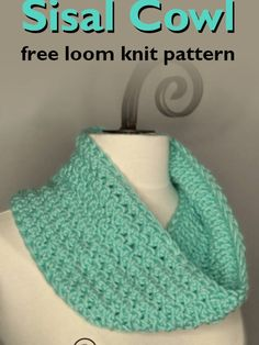 Learn the Sisal and Seagrass loom knit stitches. These two loom knit stitch patterns create a richly, textured fabric that looks woven. Loom Knitting Scarf, Bind Off Knitting, Loom Scarf, Loom Knitting Projects, Knitting Books, Knitting For Kids, Knitting Stitches, Crochet Projects, Loom Patterns