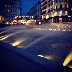 #lyon #france #fontaine #francia #lione